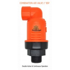 "COMBINATION AIR AND VACCUM VALVE 3/4"" MALE BSP"