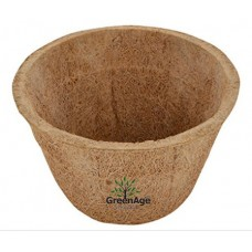 Coco Fiber  Planter Pot  for indoor gardening - 7.5 x 7.5 cm