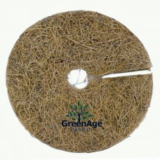 COCO FIBER BIODEGRADABLE MULCH WEED MAT 10""