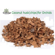 COCO HUSK/ CHIPS FOR ORCHIDS 2 PACKETS OF 450 GRAMS EACH