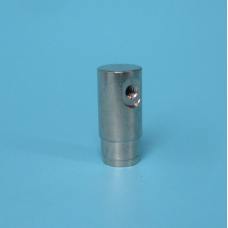 BRASS  SLIP LOCK END CAP  WITH ONE HOLE FOR NOZZLE