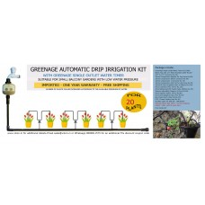 AUTOMATIC MICRO DRIP IRRIGATION KIT FOR 20 PLANTS (L)
