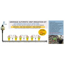 AUTOMATIC MICRO DRIP IRRIGATION KIT FOR 10 PLANTS (L)