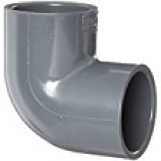 "PVC ELBOW CONNECTOR 3/4"" WITH 90 DEGREE BEND"