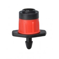 VORTEX SPRAYER HEAD RED AND BLACK 1/4""