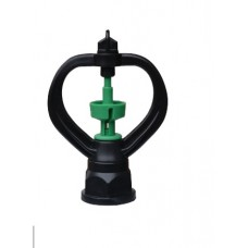 """BUTTERFLY  RING HEAD SPRINKLER WITH 1/2"""" AND 3/4""""MULTI SIZE FEMALE INLET"""