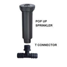 """POP UP SPRINKLER WITH FLAT LARGE NOZZLE AND 1/2"""" FEMALE *"""