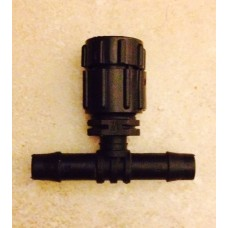 MINI FOUNTAIN WATER EMITTER WITH ON  AND OFF WITH ELBOW