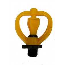 """BUTTERFLY SPRINKLER HEAD YELLOW WITH 1/2"""" MALE*"""