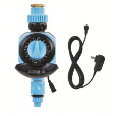 WATER TIMER WITH SINGLE DIAL EASY MANUAL SETTINGS AND AC POWERED